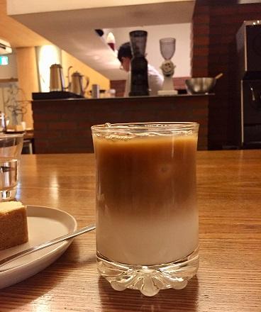 喫茶葦島 カフェオレ