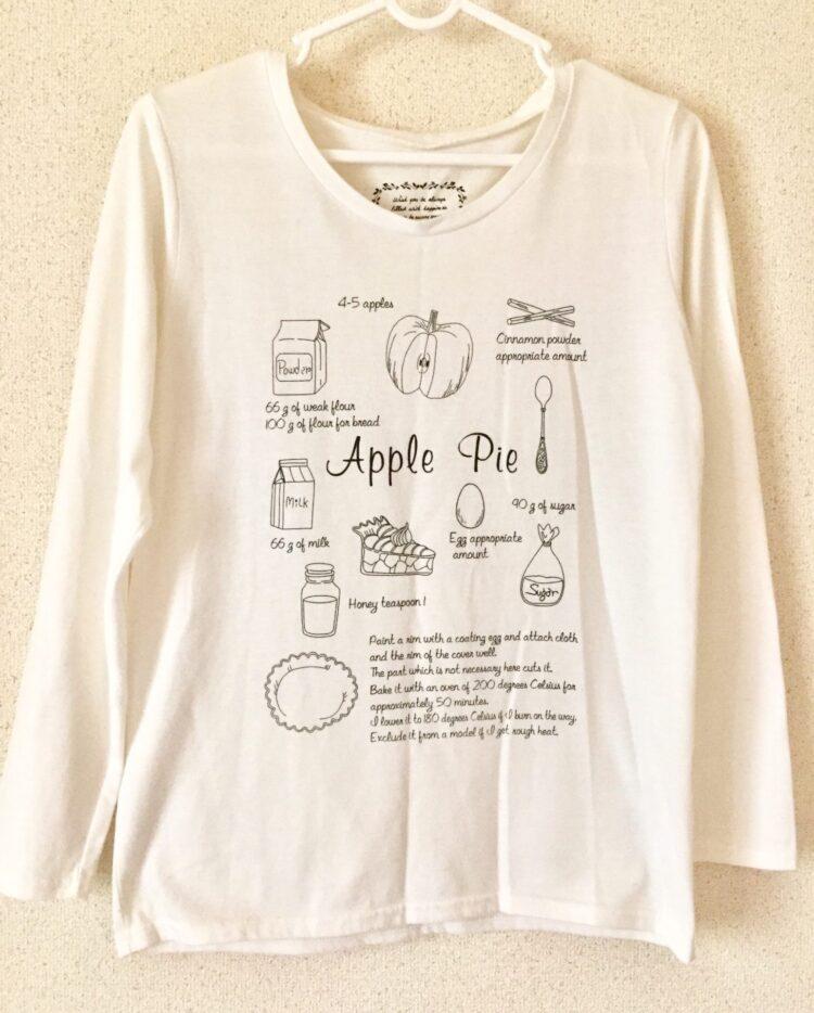 アップルパイTシャツ