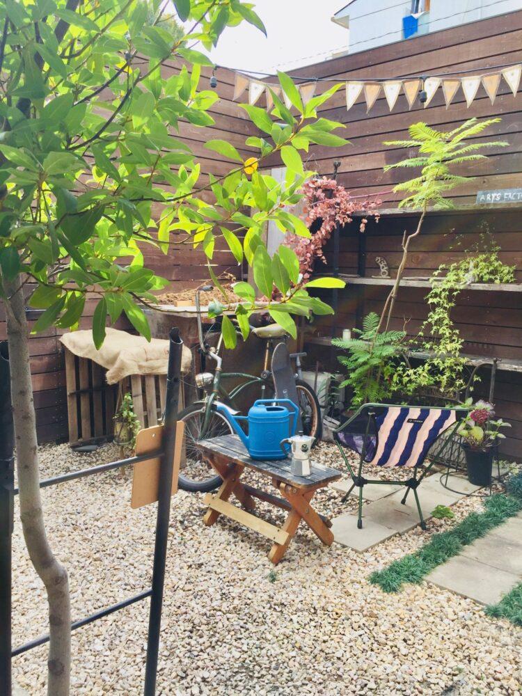 スゥレッドカフェ お庭