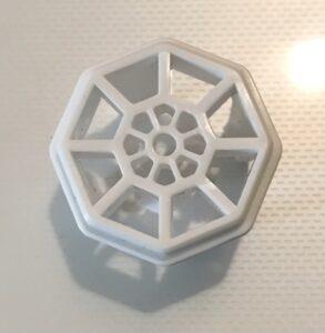 ダイソーのエアコン室外機のホース用防虫キャップ